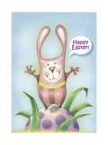 Easter Costume Giclee Print by Margaret Wilson