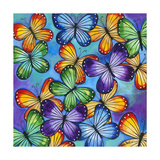 Butterflies Giclee Print by Carla Bank
