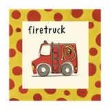 Firetruck Giclee Print