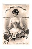 Corset vintage Giclee Print