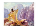 Dream Catcher Lámina giclée por Steve Henderson