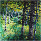 Treescape 10 Prints by Carole Malcolm