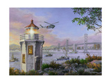 Golden Bliss Giclee Print by Nicky Boehme