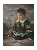 Flight Plans Giclee Print by Bob Byerley
