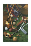 Golf Antiques Giclee Print by William Vanderdasson