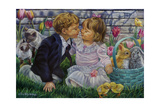I Love You Giclee Print by Tricia Reilly-Matthews