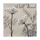 Flowering Herbs III Giclee Print