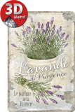 Lavande de Provence Plakietka emaliowana