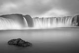 Godafoss Panorama 1 Photographic Print by Moises Levy