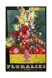 Flowersofparis Giclee Print