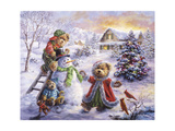 Fun Loving Merriment Giclee Print by Nicky Boehme