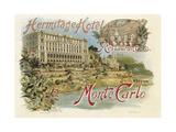 Hotel Hermitage Giclee Print