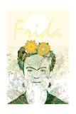 Frida Giclee Print by Teofilo Olivieri