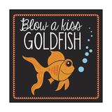 Goldfish Giclee Print by Erin Clark
