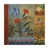 Floral Rhapsody 1 Giclee Print by John Zaccheo