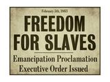 Emancipation Impression giclée