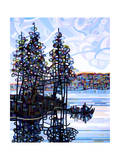 Haliburton Morning Giclee Print by Mandy Budan