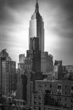 Empire State vertical Photographic Print by Moises Levy
