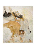 Golden Eyes with Uncle Sam Giclee Print