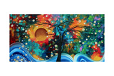 Halo of Fire Giclee Print by Megan Aroon Duncanson