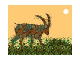 Goat Giclee Print by Teofilo Olivieri