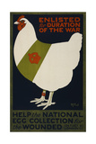 Help the National Egg Collection for the Wounded Giclee Print