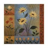 Floral Rhapsody 2 Giclee Print by John Zaccheo