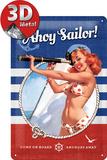 Pin Up - Ahoy Sailor! Plaque en métal