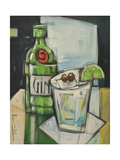 Gin and Tonic Wydruk giclee autor Tim Nyberg