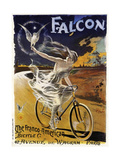 Falcon Bicycle Impression giclée