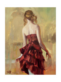 Girl in a Copper Dress 2 Giclee Print by Steve Henderson