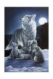 Howling Lessons Giclee Print by Jenny Newland