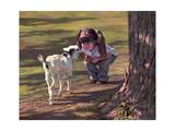 Goat Whisperer Giclee Print by Bob Byerley