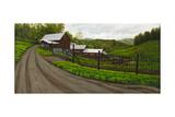 Felecity Farm Reproduction procédé giclée par Bruce Dumas