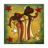Golden Present Giclee Print by Megan Aroon Duncanson