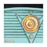 Galaxy Radio - Aqua Giclee Print by Larry Hunter