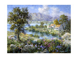Enchanted Cottage Giclee Print by Nicky Boehme