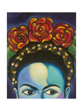 Frida Reproduction procédé giclée par Carla Bank