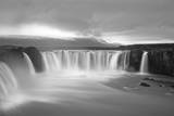 Godafoss Panorama 2 Photographic Print by Moises Levy