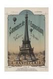 Eiffel Exposition Giclee Print