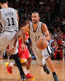 San Antonio Spurs v Houston Rockets Photo af Bill Baptist