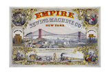 Empire Sewing Machine Co. Giclee Print