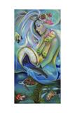 Fergierina the Mermaid Impression giclée par Sue Clyne