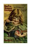 Hoyts Dentifrice Little Green Girl Giclee Print