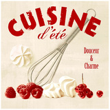 Summer cuisine whip Posters by Galith Sultan
