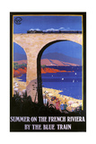 French Riviera Giclee Print