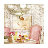 Hotel Regina Paris Tea Room Giclee Print by Tina Lavoie