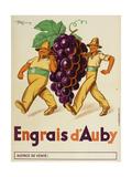Engrais D'Auby Giclee Print