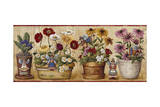 Flower Pots Giclee Print by Lisa Audit