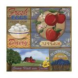 Farm Giclée-Druck von Fiona Stokes-Gilbert